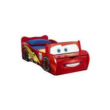 chambre cars pas cher lit voiture en bois couchage 70x140 cm disney cars pas cher
