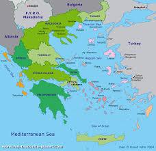 greece map political greece maps perrycastañeda map collection ut library