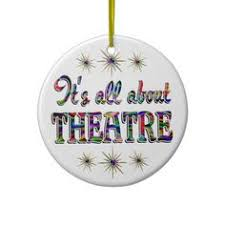 comedy and tragedy ornament theater ornament theater ornaments