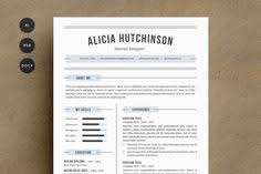 hipster resume template cv design by this paper fox on creative