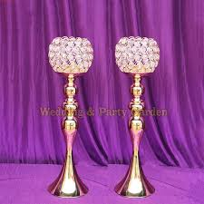 Cheap Gold Centerpieces by Online Get Cheap Tall Gold Centerpiece Vase Aliexpress Com