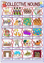 english teaching worksheets collective nouns