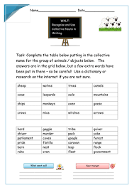 common proper abstract collective compound nouns powerpoint