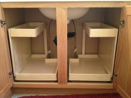 Bathroom Sink With Cabinet by Shelfgenie Of Austin Pull Out Storage Makeover For Your Travis