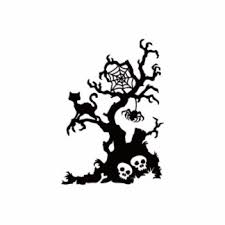 Halloween Cut Outs Halloween Tree Photo Statuettes Cutouts U0026 Sculptures Zazzle