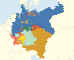 German States Map Germany 1871 By Jjohnson1701 On Deviantart