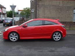 vauxhall astra vxr modified the red baron