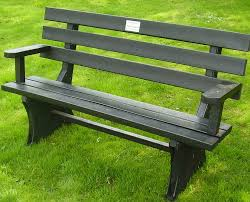 Memorial Benches Uk Solway Products Memorial Benches Recycled Plastic Benches