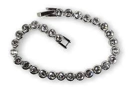 black swarovski crystal bracelet images Swarovski crystal tennis bracelet swarovski crystal bracelets jpg