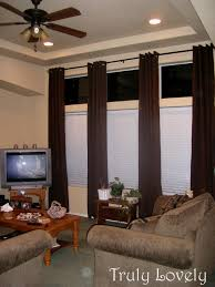 long rod ceiling fan decor interior home decor ideas with extra long curtain rods