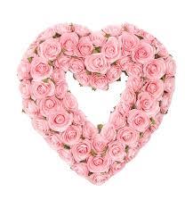 heart wreath glenna jean rosebud heart wreath reviews wayfair