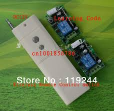 sliding door light switch automatic dc12v 1ch rf digital remote control switch 315mhz 433mhz high power