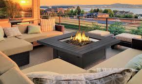 propane fire pit canada outdoor living pergolas fire pits backyard retreat