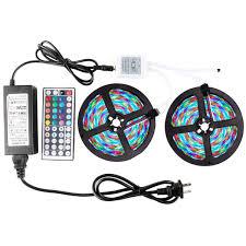 Remote Led Light Strips by Wentop Led Strip Light Kit Waterproof Smd 3528 32 8ft 10m 600leds