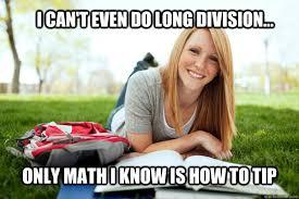 Dumb Girl Meme - dumb studying college girl memes quickmeme