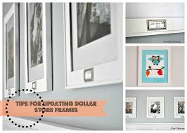 Picture Frames And Mats by Keep Calm And Decorate Updating Dollar Store Frames