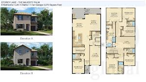 6 bedroom floor plans storey lake floor plans