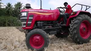 Mahindra Tractors Mahindra Yuvo Disc Harrow Telugu Youtube