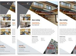 free real estate flyer templates word free templates for flyers