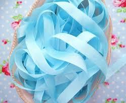 seam binding ribbon candy aqua vintage style seam binding ribbon
