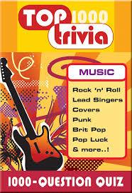 amazon com top trivia music 1000 question game toys u0026 games