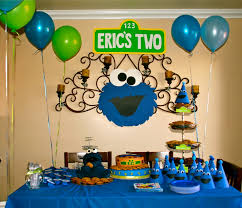 cookie monster table decorations me want cookies cookie monster theme party pinterest cookie