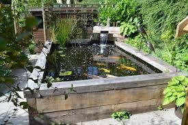 Backyard Fish Pond Ideas Garden Fish Ponds Designs 646