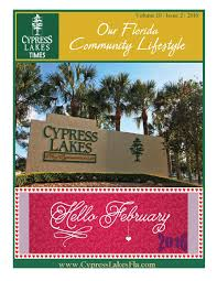 february 2016 cypress lakes times by cypress lakes issuu