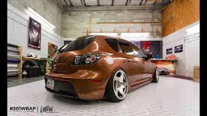 the worlds fastest color change car wrap on a mazda3 arlon