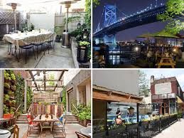 the best restaurants to eat outdoors in philadelphia 2014 edition