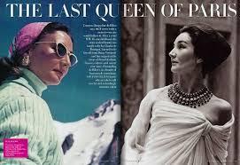 the last queen of paris vanity fair