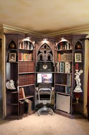 Houzz Bookcases Mediterranean Bookcases Houzz Lighted Bookcase Home Vid