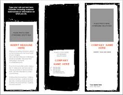blank brochure template word mughals
