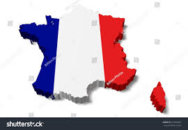 Map France by 3d France Map French Flag Stock Illustration 272506391 Shutterstock