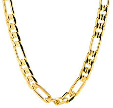 figaro gold necklace images Gold figaro chain 7mm fashion jewelry necklaces 24k jpg