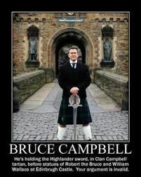 Evil Dead Meme - bruce cbell on bruce cbell horror and movie
