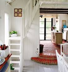 Small Space Stairs - maximize use of space in a tiny house by using this to access the