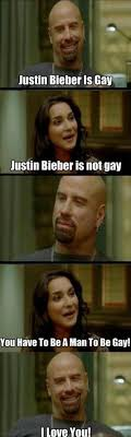 From Paris With Love Meme - dae think justin bieber is gay and isn t a man