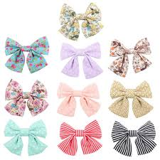 fabric bows cn 2 5 boutique glitter hair bow with clip pack of