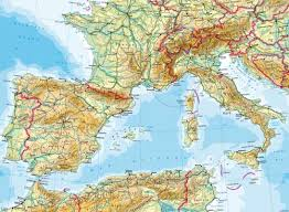 europe phisical map maps south west europe physical map diercke international atlas