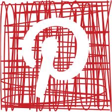 media pen pinterest sketch social icon icon search engine