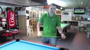 width of a 7 foot pool table how to measure a pool table youtube