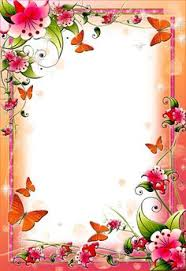 Border Designs For Birthday Cards Simple Flower Border Designs For Projects Google Search