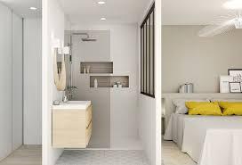 agencement d une chambre un bain de lumière aménagement rénovation appartement lyon