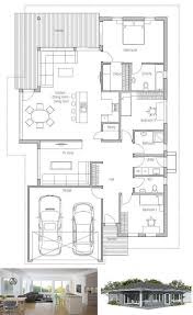 one modern house plans modern contemporary house floor plans brucall com