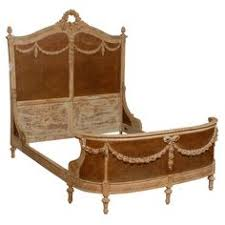 Eloquence One Of A Kind Vintage French Gilt Cane Louis Xvi Style Twin Bed Pair Circa 1900 French Louis Xv Xvi Style Green U0026 Gold Painted Carved