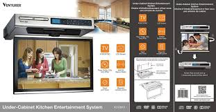 amazon com venturer klv3915 15 4 inch undercabinet kitchen lcd tv