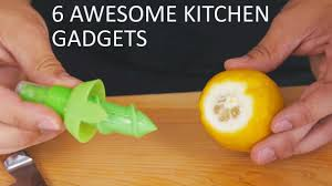 cool kitchen gadgets 6 awesome kitchen gadgets youtube