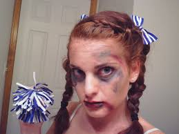 Halloween Cheer Costumes Dead Cheerleader Halloween Tutorial