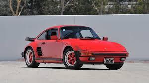 porsche carrera red 1987 porsche 911 turbo slantnose s130 monterey 2013